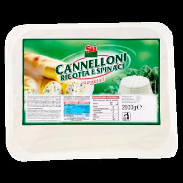 ** CANNELLONI RICOTTA/SPINACI 2kg. SU'