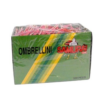 OMBRELLINI PARTY 500pz. SAMURAI  #