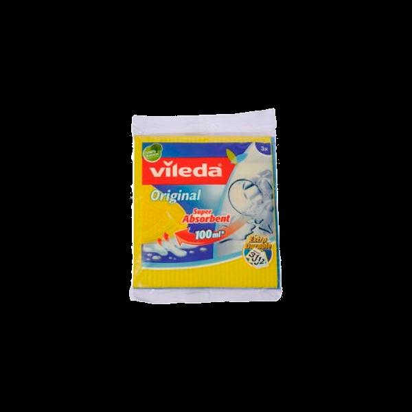 PANNO SPUGNA 3pz. VILEDA # (24)