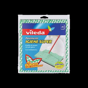 PANNO PAVIMEN. IGIENE SUPER 3pz. VILEDA#