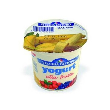 F YOGURT INT. 125gr. BANANA  #