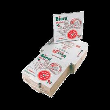 BOX PIZZA VEGET. 32.5x32.5x3cm 100pz. #