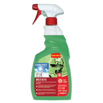 DETER. SPRAY MULTI ACTIV 75cl. SANIFIC.#