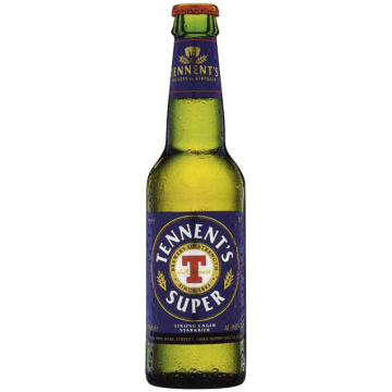 TENNENT'S SUPER STRONG LAGER 0.33X24 #