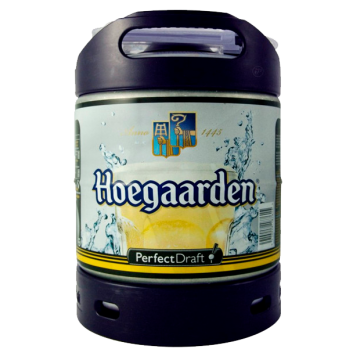 HOEGARDEN BLANCHE PERFECT DRAFT  6LT =