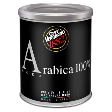 CAFFE ARABICA MOKA 250gr. VERGNANO #