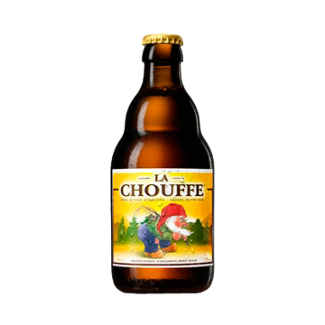 LA CHOUFFE GOLDEN ALE 0.33# BT -