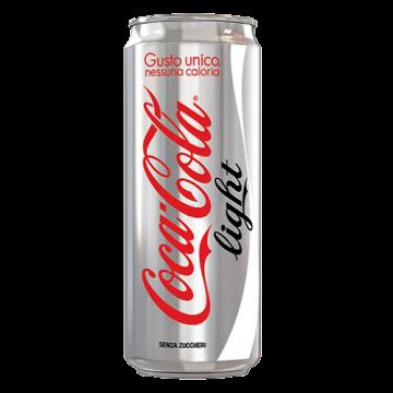 COCA COLA LIGHT SLEEK LATTINA 0,33X24#