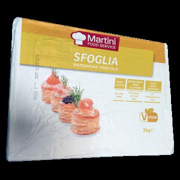 F MARGARINA VEGETALE SFOGLIA 2kg. MARTIN