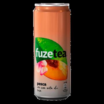 TEA FUZE PEACH ROSE lattina 0.33 X24