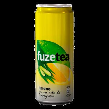 TEA FUZE LEMONGRASS lattina 0.33 X24 #
