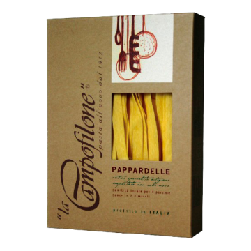PAPPARDELLE ALL'UOVO 250gr. #