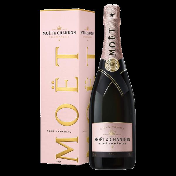 CHAMPAGNE MOET CHANDON ROSE X1#