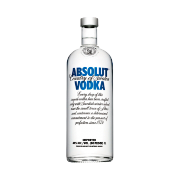 VODKA ABSOLUT CLEAR 1/1 #