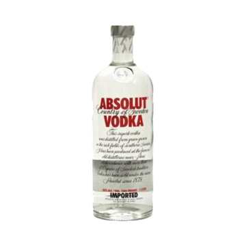 VODKA ABSOLUT MANDARINO 1/1 #