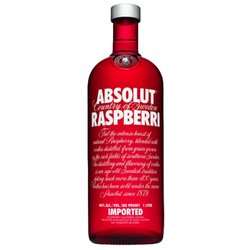 VODKA ABSOLUT RASPBERRY 1/1 #