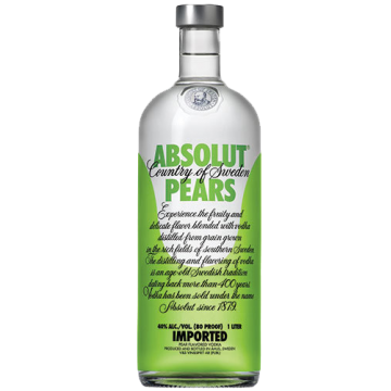 VODKA ABSOLUT PEARS 0.70 #