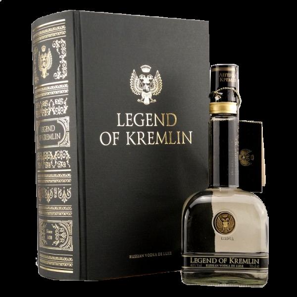 VODKA LEGEND OF KREMLIN 0.70 c/libro #