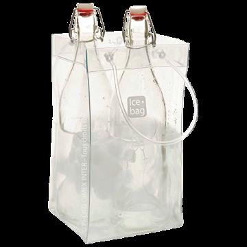 ICE BAG TRASPARENTE 2 BOTTIGLIE