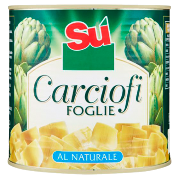 CARCIOFI FOGLIE AL NATURALE 30/40  3/1 #