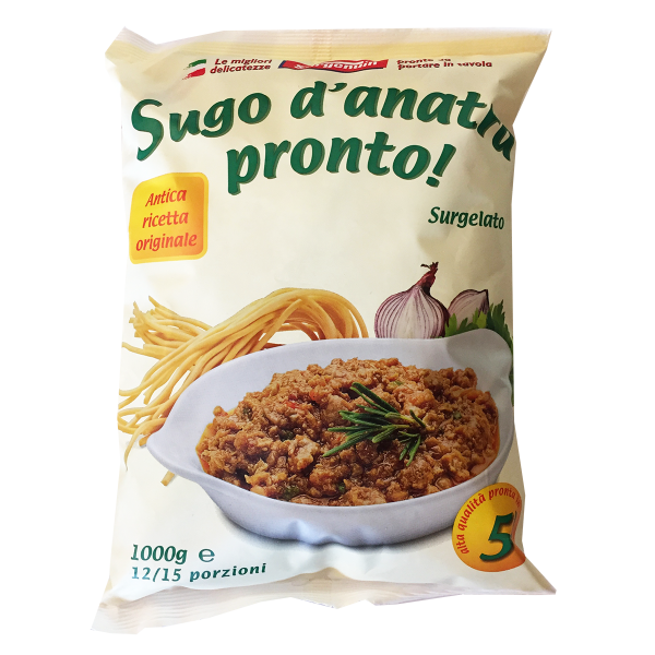 ** SUGO D'ANATRA 1kg. IQF SURGENUIN  #