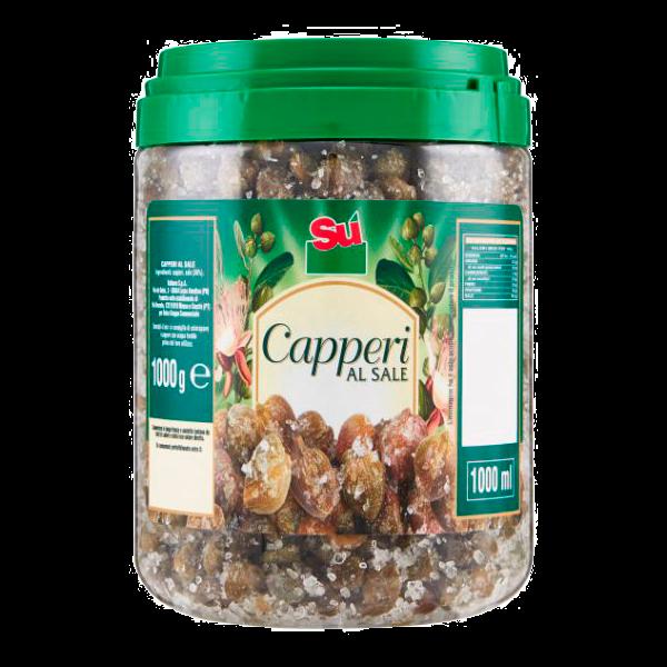 CAPPERI AL SALE 1kg. CAL.13 SU' #  (6)