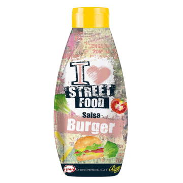 SALSA HAMBURGER SQUEEZE 875ml DEVELEY #