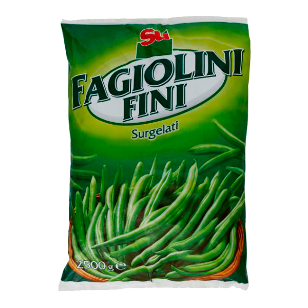 ** FAGIOLINI FINI 2.5kg. BUSTA SU' #