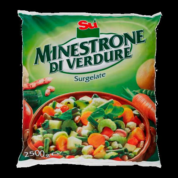 ** MINESTRONE 14 VERDURE 2.5kg. SU'  #