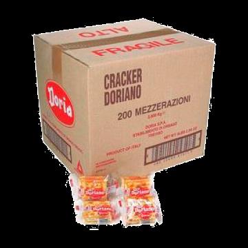 CRACKER 1/2 RAZ. ct.200pz. 2.8kg. DORIA#