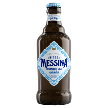 BIRRA MESSINA CRISTALLI DI SALE 0.33 #