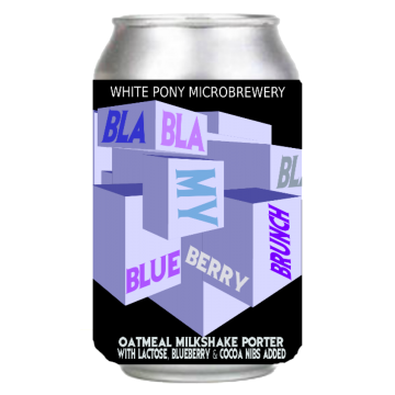BIRRA BLA BLA BLA MY BLUEBERRY  0.33