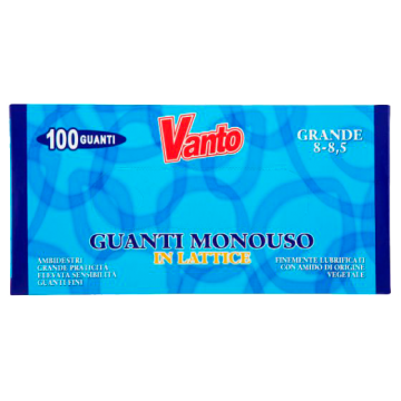GUANTI LATTICE GRANDI 100pz. VANTO  #