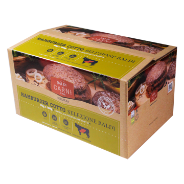 ** HAMBURGER COTTO SELEZ. 18x150gr #