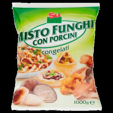 ** MISTO FUNGHI CON PORCINI 1kg. SU'  #