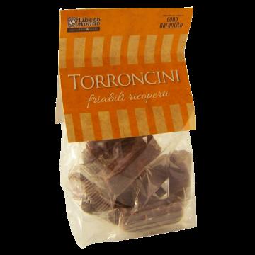 TORRONCINI friabili RICOPERTI 125gr