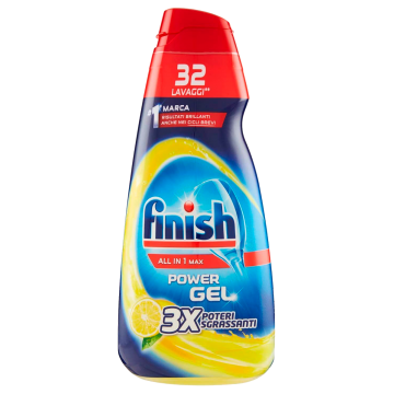GEL LAVASTOVIGLIE FINISH 650ml tutto in1