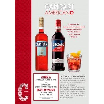 Promo Campari AMERICANO