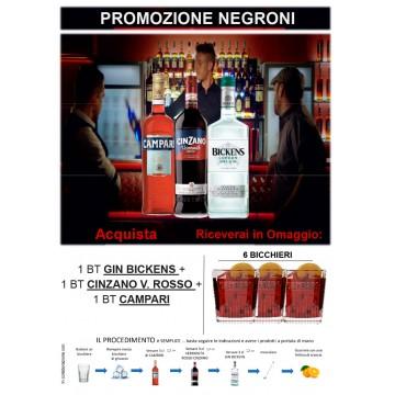 Promo Campari NEGRONI BIKENS