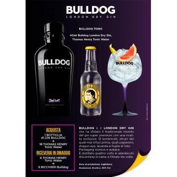 Promo Campari GIN BULLDOG