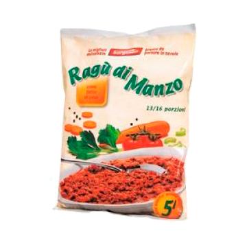 ** RAGU' DI MANZO IQF 1kg. SURGENUIN #