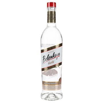 VODKA BELENKAYA GOLD  LT  #