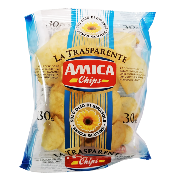 PATATINE CLASSICHE 30gr AMICA CHIPS  #