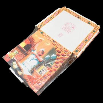BOX PIZZA VEGET. 33x33x3cm 100pz. #