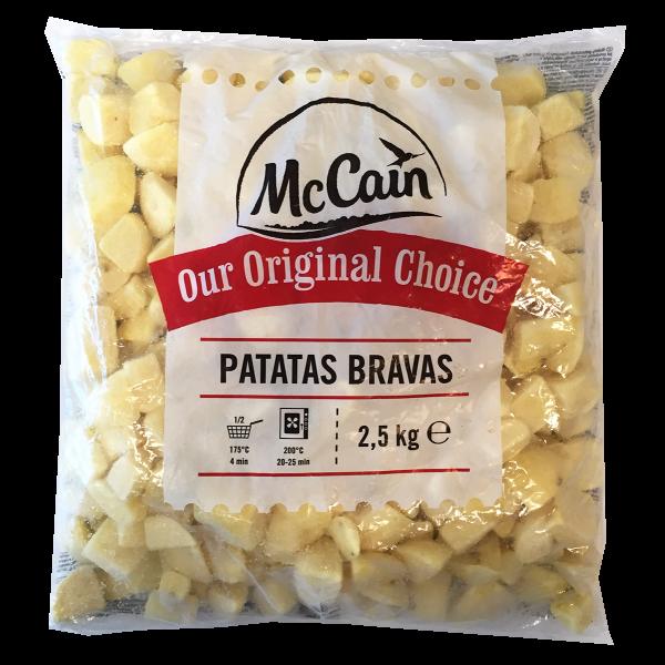 ** PATATE CUBO BRAVAS 2.5kg. MC CAIN #