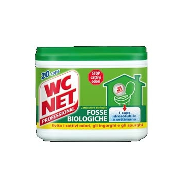 FOSSE BIOLOGICHE 20 BUSTINE WC NET  #
