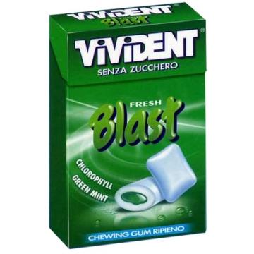 VIVIDENT FRESH BLAST GREEN AST.20pz. \