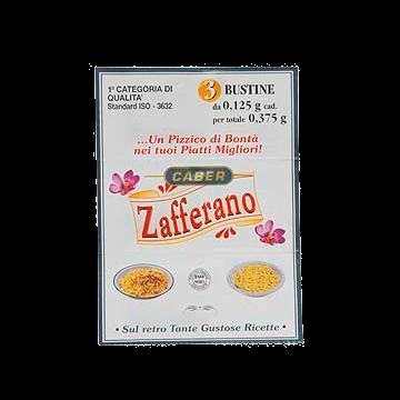 ZAFFERANO BUSTE 3bs.x0.375bs. CABER #