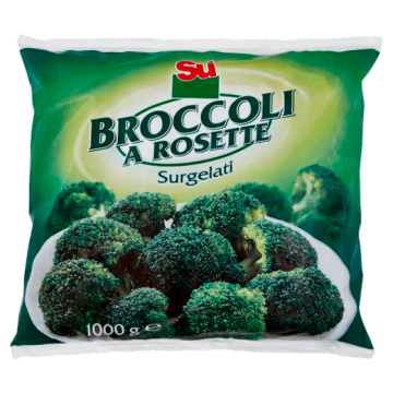 ** BROCCOLI ROSETTE 1kg. SU' #