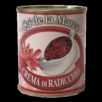 CREMA DI RADICCHIO 4/4 800gr. C. MARCA #